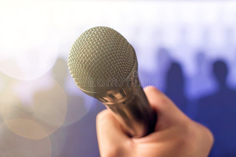 Concetto parlante e dante pubblico di discorso immagini stock libere da diritti