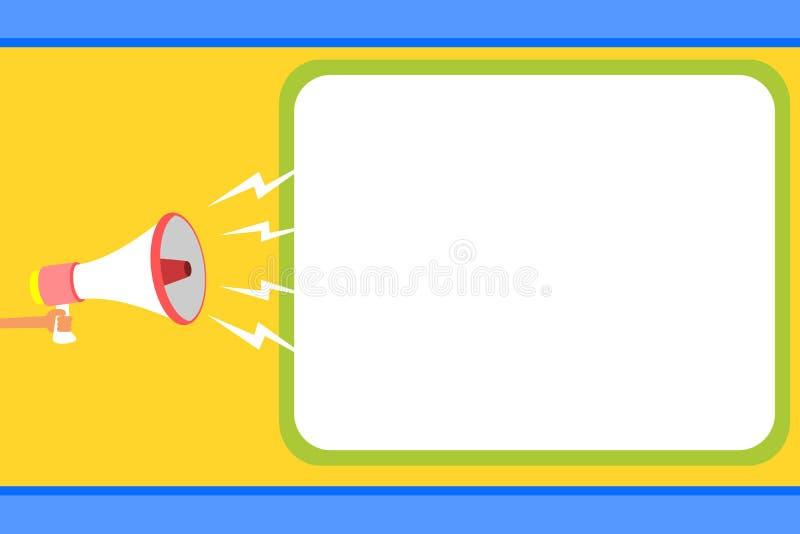 Concetto piano dell'illustrazione di vettore di affari di progettazione Annuncio di affari per le insegne di promozione e del sit royalty illustrazione gratis