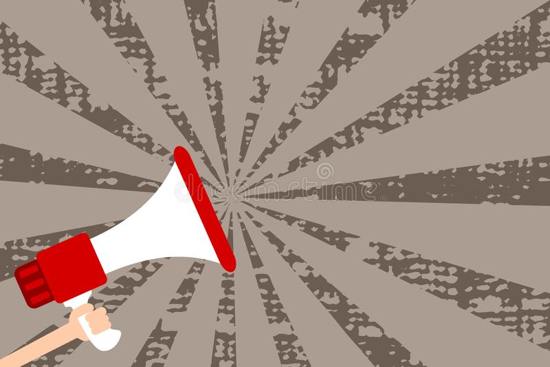 Concetto piano dell'illustrazione di vettore di affari di progettazione Annuncio di affari per le insegne di promozione e del sit illustrazione di stock