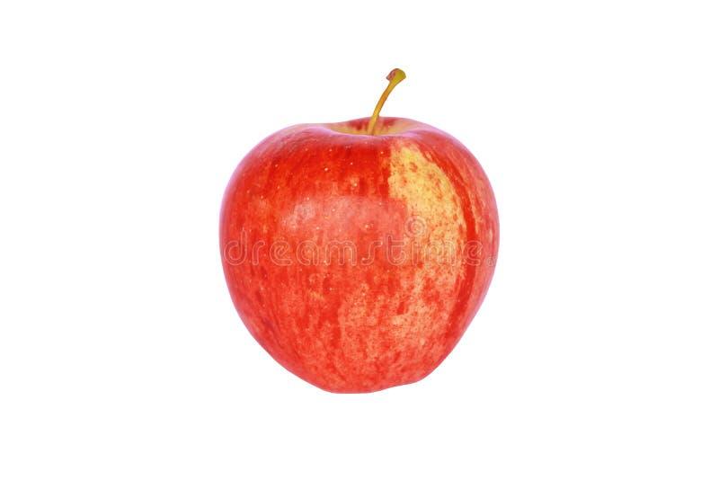 Concetto rosso della mela per il controllo del peso del corpo e di dieta sana fotografia stock