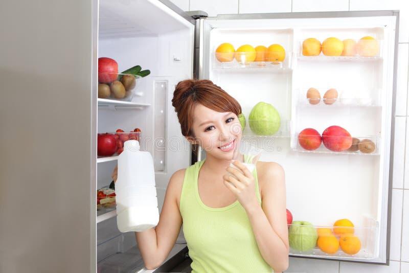 Concetto sano di cibo immagini stock libere da diritti