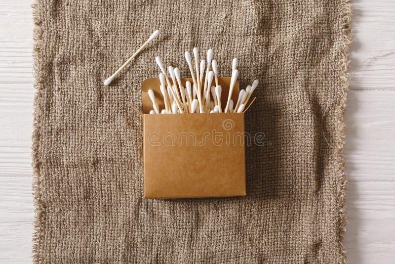 Concetto sostenibile di stile di vita Spreco zero bambù naturale ea di eco fotografia stock libera da diritti