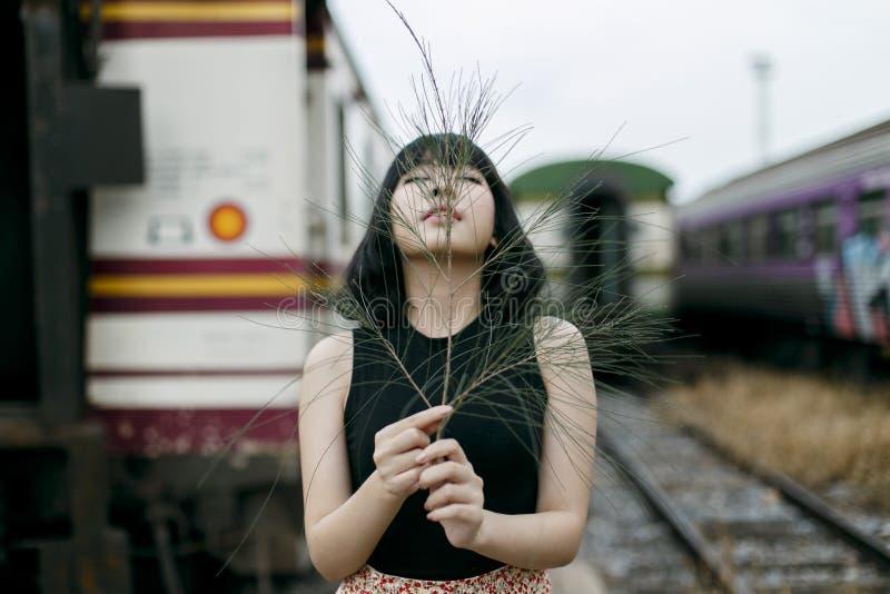 Concetto splendido di Vogue di bellezza attraente di adolescenza fotografie stock libere da diritti
