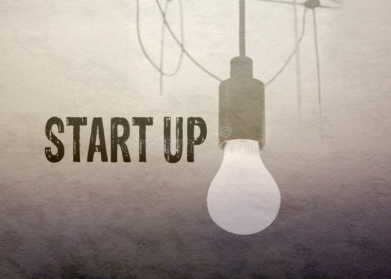 Concetto Start-up di affari fotografia stock libera da diritti