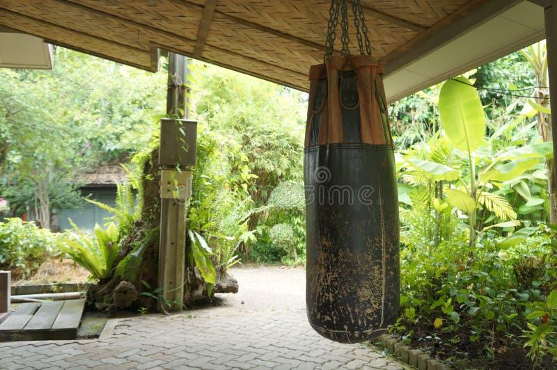 Download Concetto Tailandese Muay Del Pericolo Di Kickboxing Della Palestra Del Punching Ball Fotografia Stock - Immagine di sport, effetto: 56890760