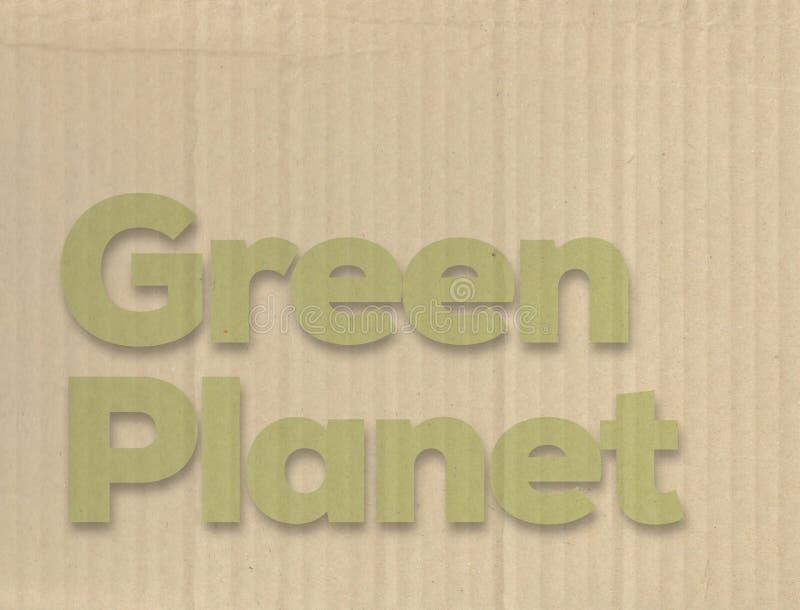 Concetto verde del pianeta immagine stock libera da diritti