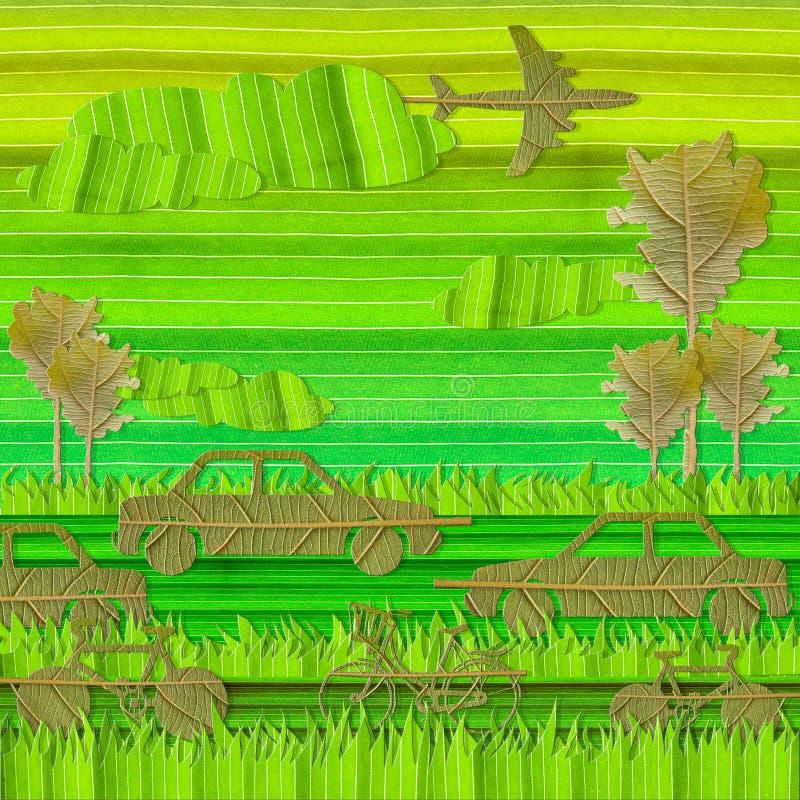 Concetto verde di Eco fotografie stock libere da diritti