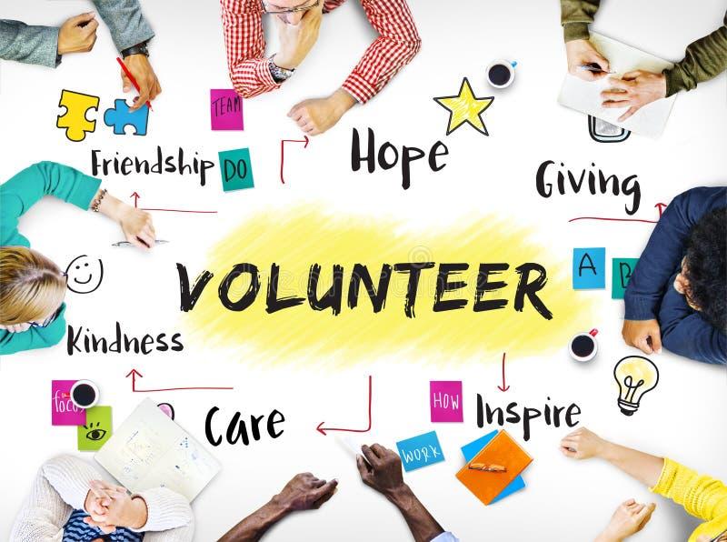 Concetto volontario di gentilezza di speranza di donazione di aiuto immagini stock