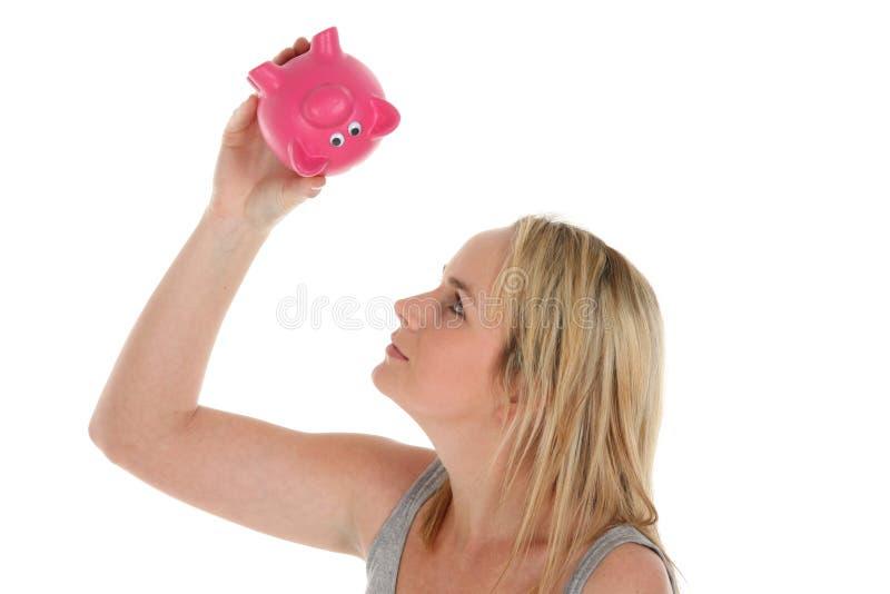 Concetto vuoto della Banca Piggy fotografia stock libera da diritti