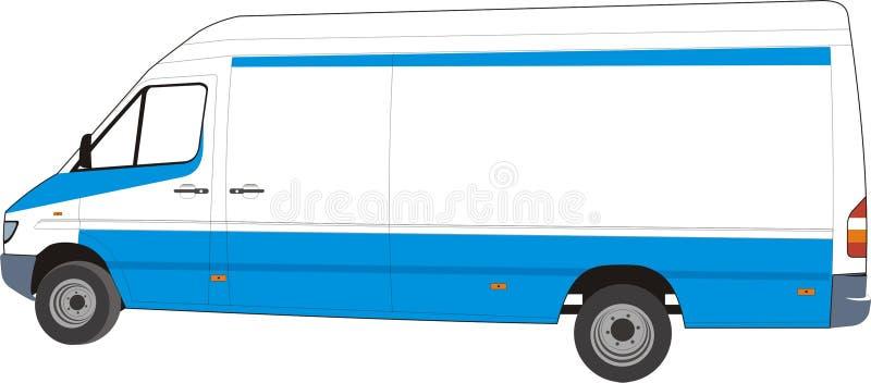 Concevez votre fourgon de distribution ! ! illustration stock