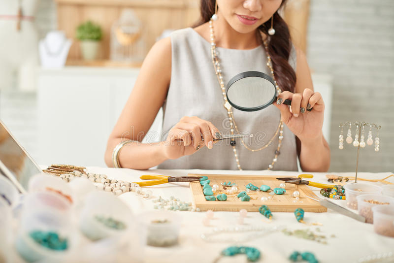 Concevoir des bijoux photo stock