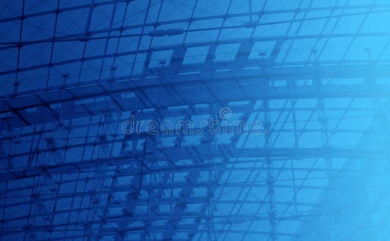 Concevoir le fond bleu photos stock