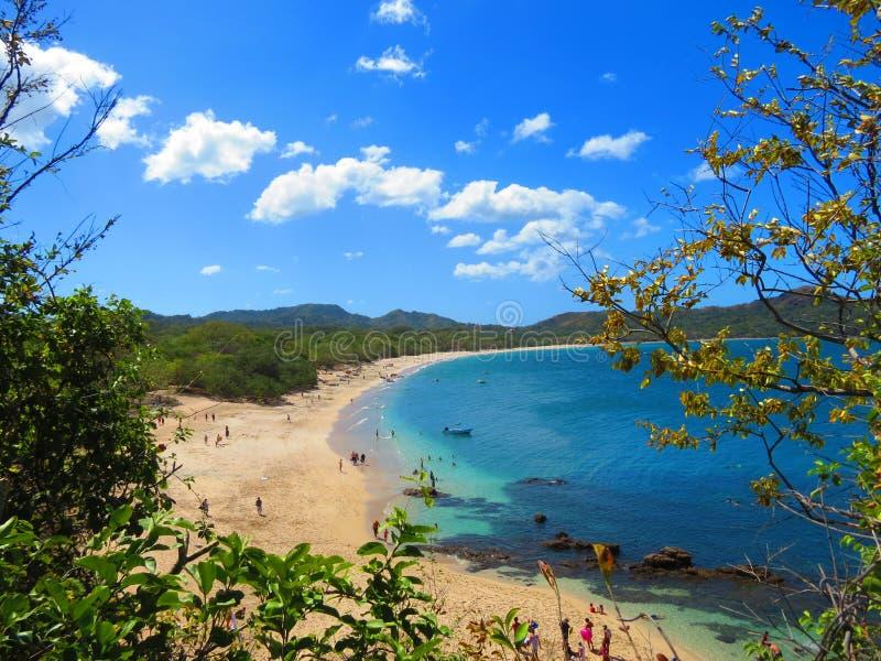 Conchal strand Costa Rica royaltyfri bild