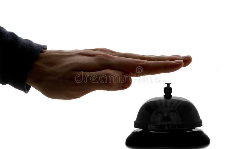 Concierge Bell do hotel foto de stock royalty free