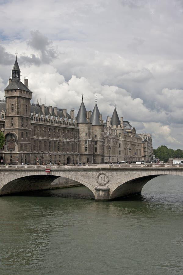 Conciergerie a Parigi fotografie stock