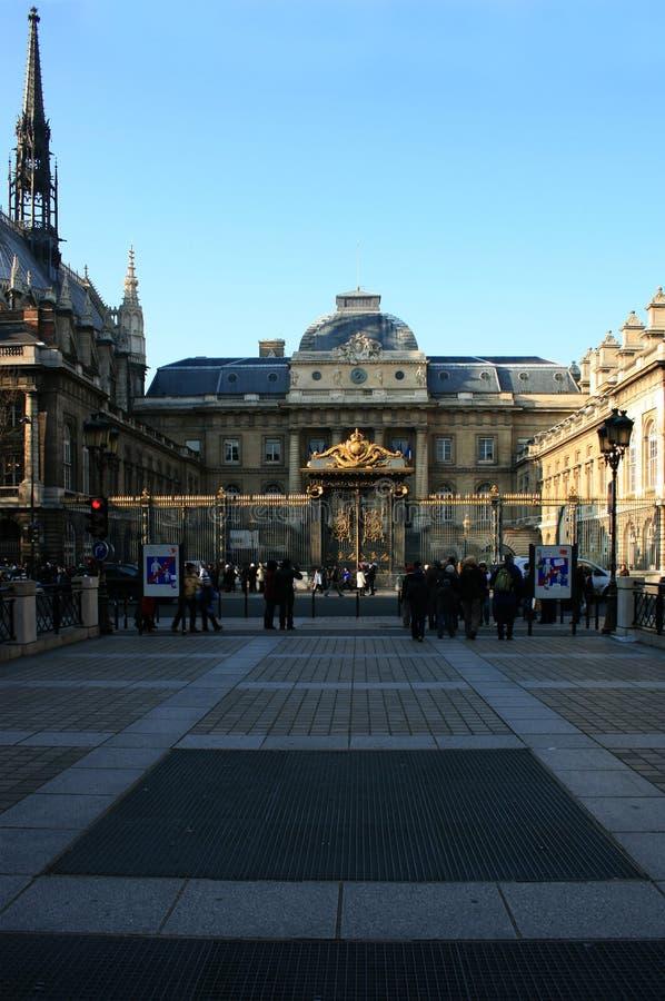 conciergerie paris стоковая фотография rf