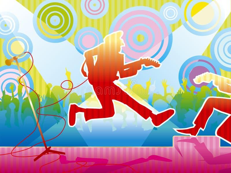 Concierto (color) libre illustration