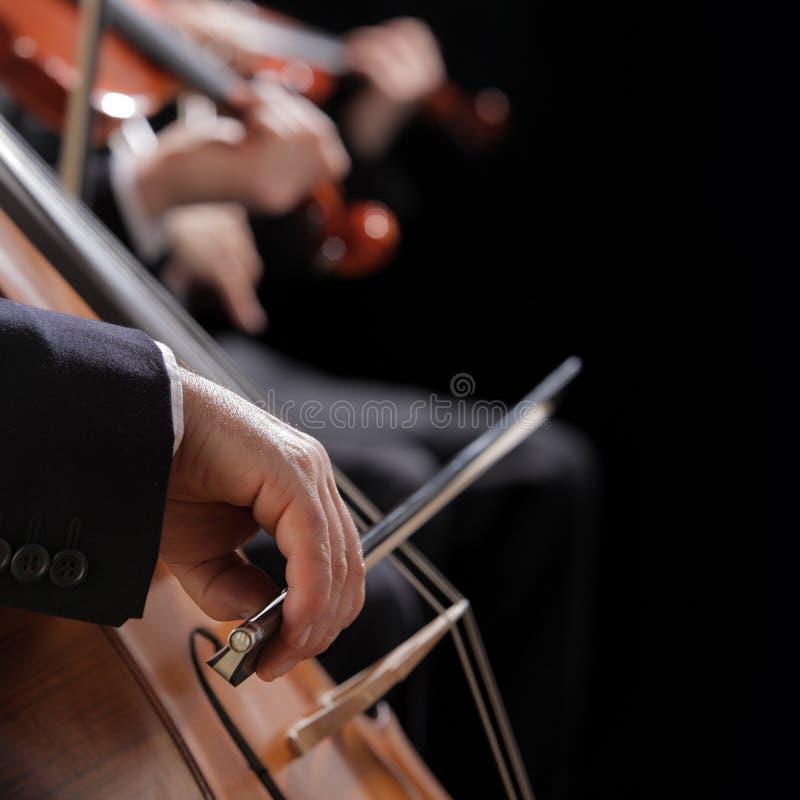 Concierto de la música clásica foto de archivo