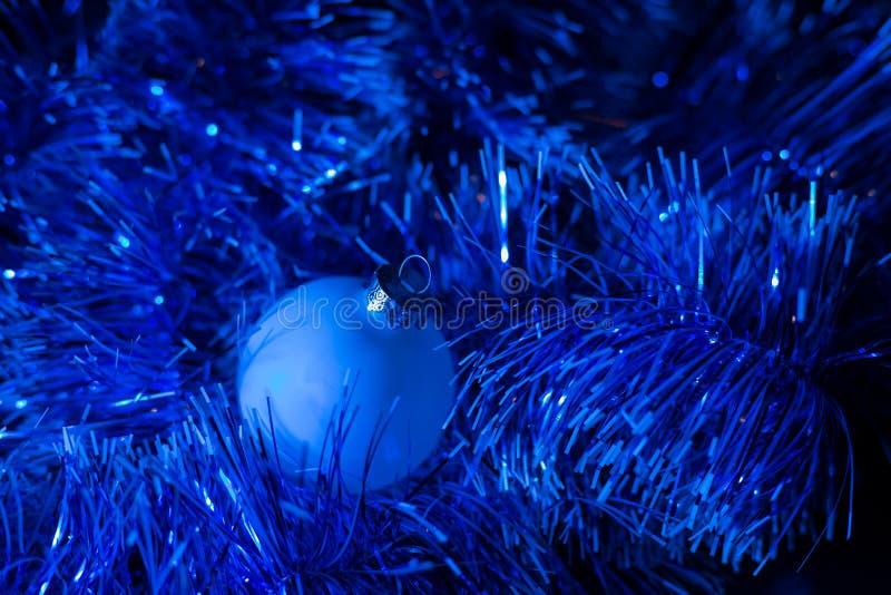 Concierto de la Navidad con los accesorios azules fotos de archivo libres de regalías