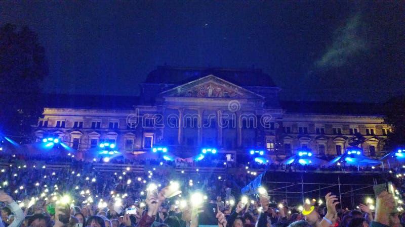 Concierto Dresden imágenes de archivo libres de regalías