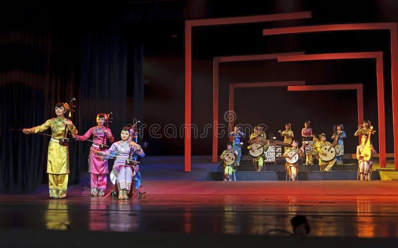 Concierto instrumental popular tradicional chino imágenes de archivo libres de regalías