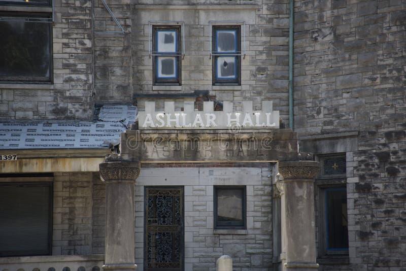 Concio Hall Castle, Memphis, TN immagini stock