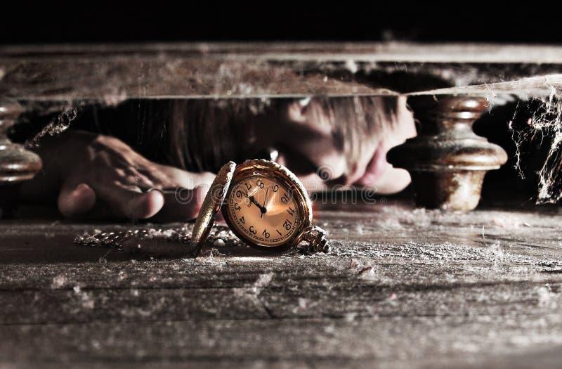 Conclusion de la montre perdue de temps images libres de droits