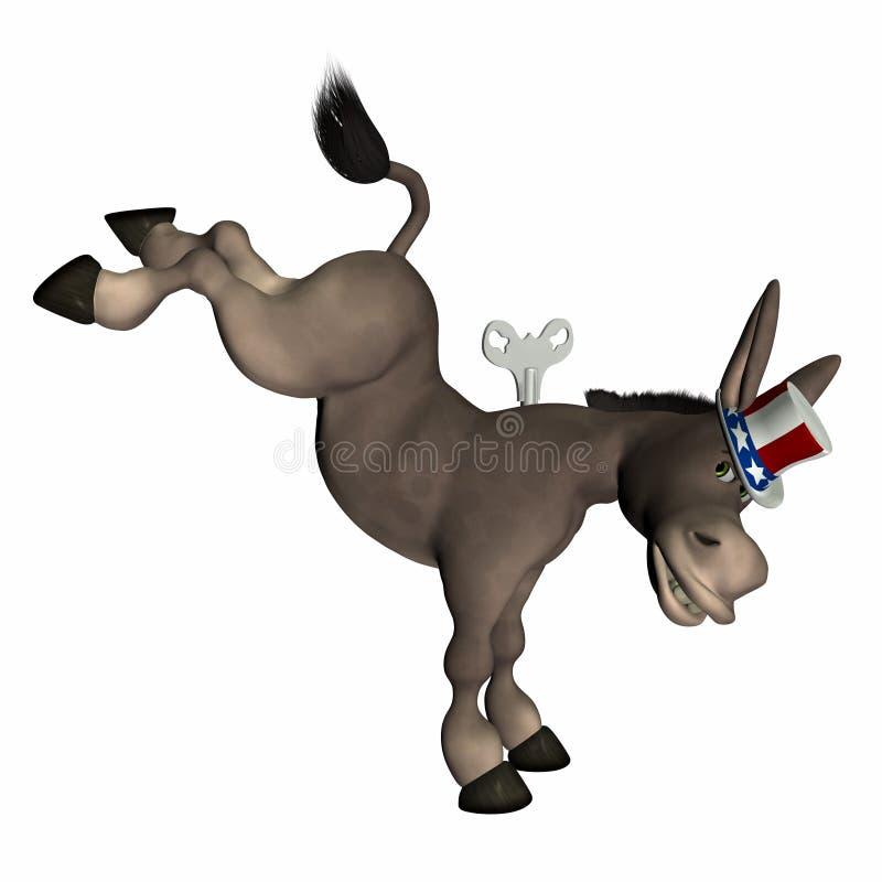 Conclusione del Democrat illustrazione vettoriale