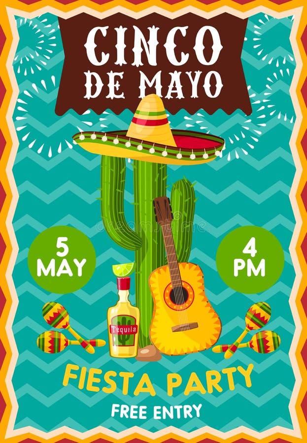Conco de Mayo fiesta przyjęcie