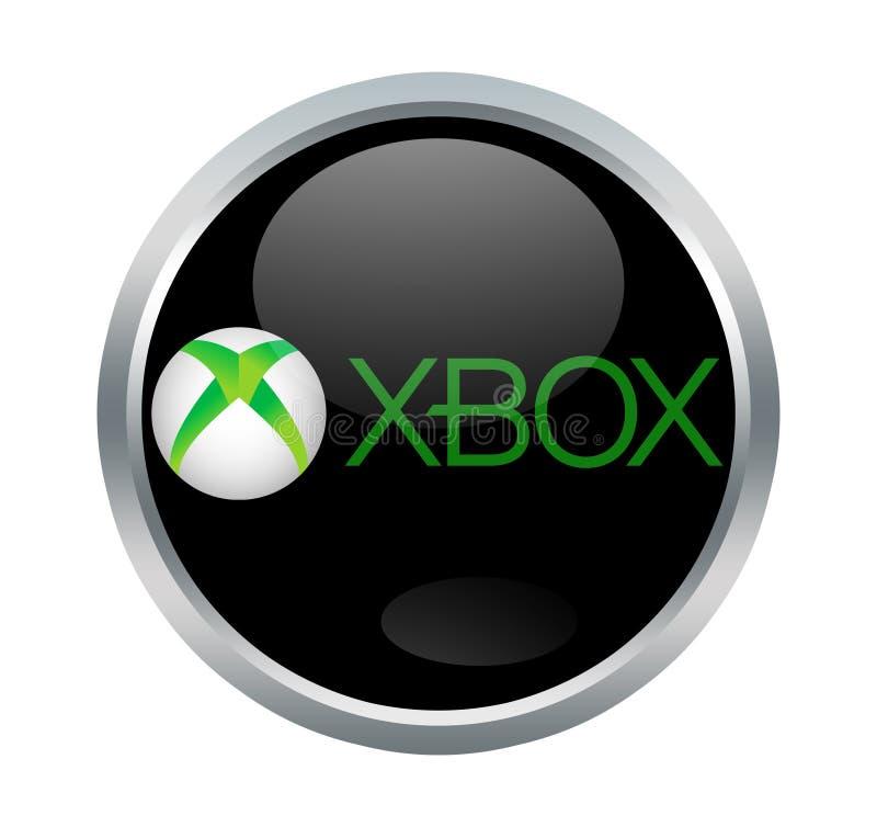 Concole видеоигры Xbox иллюстрация штока