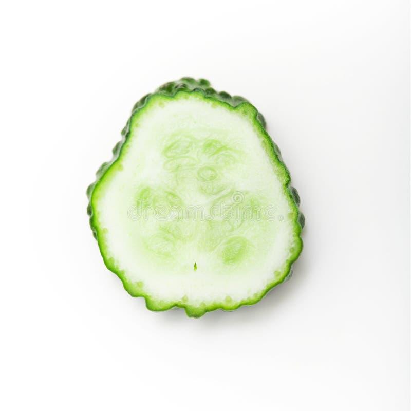 Concombre coupé en tranches photo stock