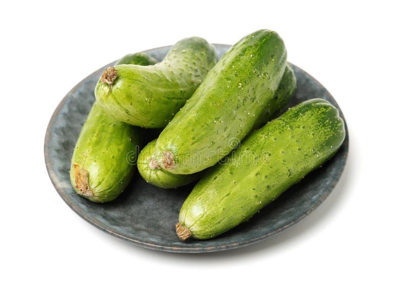 concombre vert empilé ensemble photo libre de droits