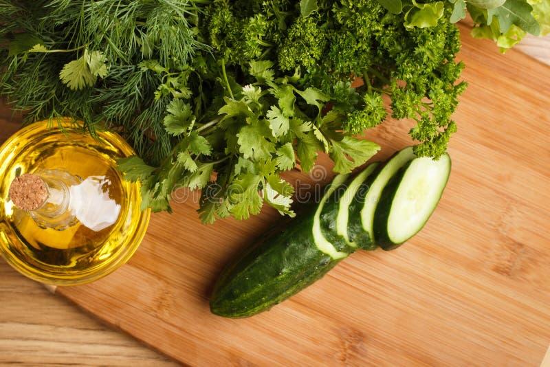 Concombre vert frais image libre de droits