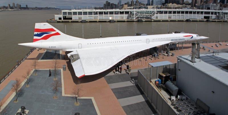 Concorde fotografie stock libere da diritti