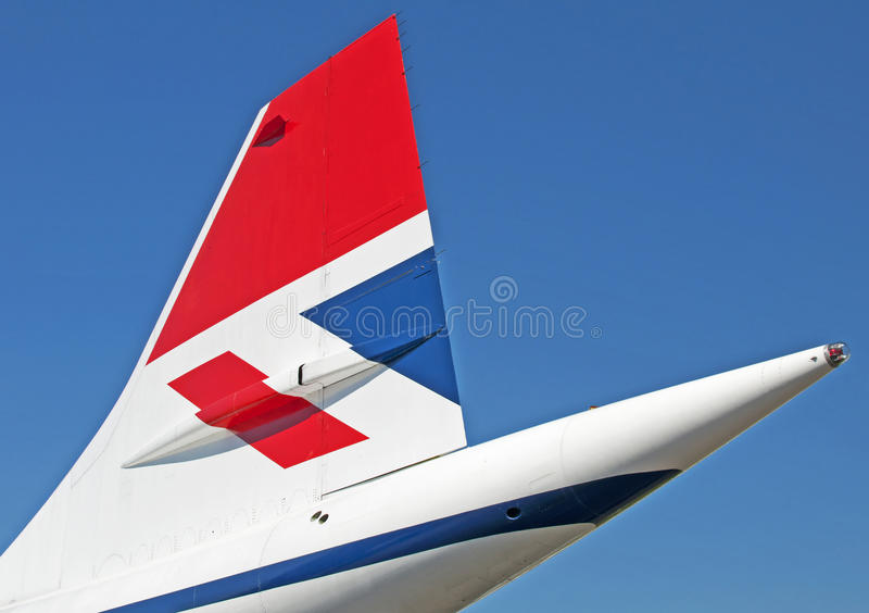 Concorde royalty free stock images