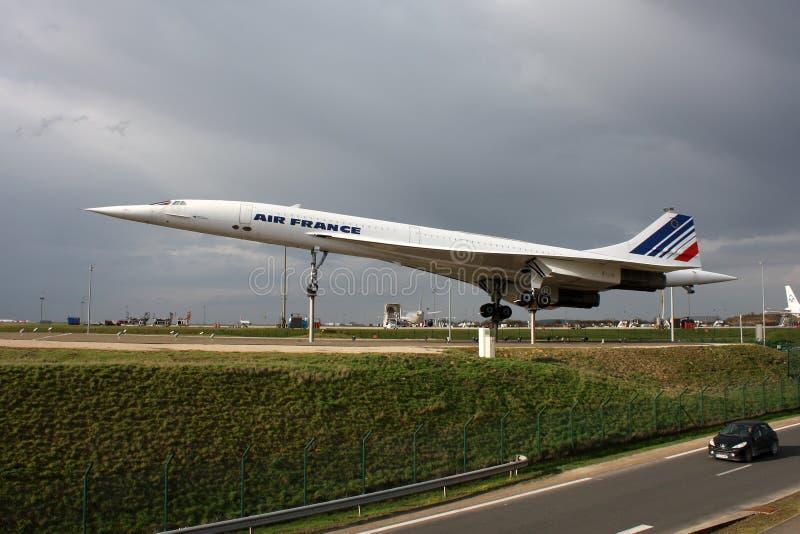 Concorde imagens de stock royalty free