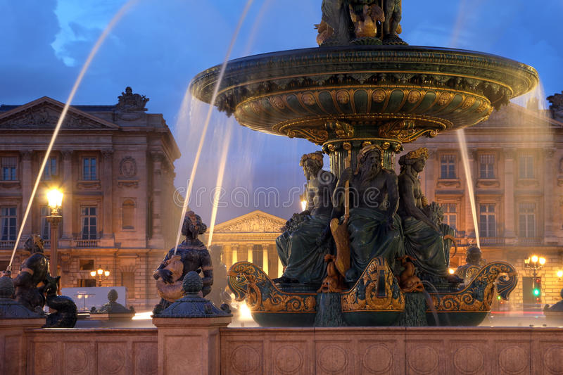 concorde de France losu angeles Paris miejsce zdjęcia stock