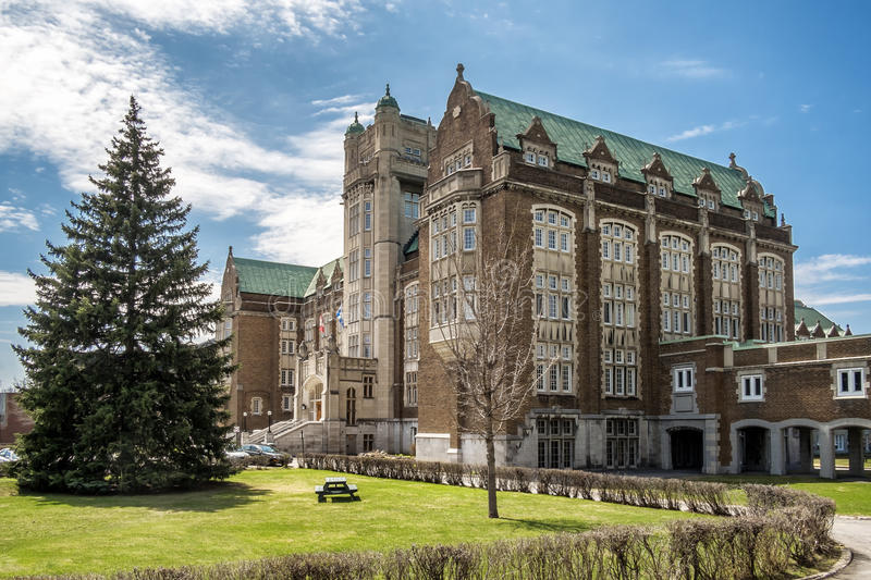 Concordia university Loyola campus. Loyola College was a Jesuit college in Montreal, Quebec, Canada. It ceased to exist when it was incorporated into Concordia royalty free stock image