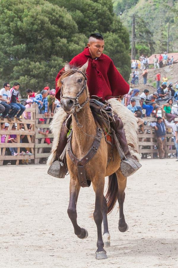 Concorrenza latina del cowboy immagine stock libera da diritti