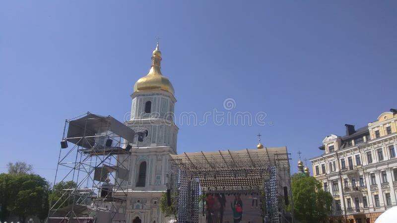 Concorso 2017 - Kiev, Ucraina di canzone di Eurovisione fotografie stock libere da diritti
