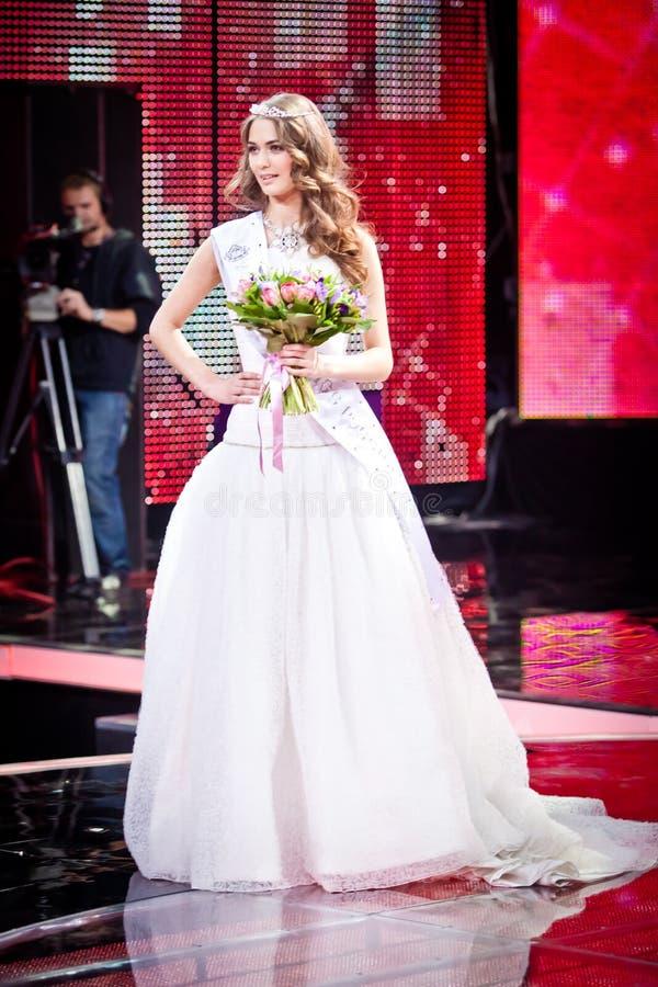 Concours 2010 de beauté de Mlle Russie image libre de droits