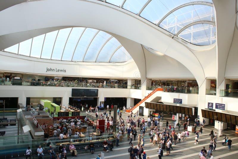 Concourse, Grand Central, Birmingham, Anglia obrazy stock