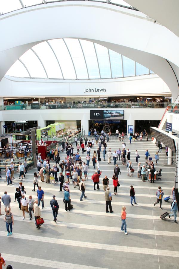 Concourse, Grand Central, Birmingham, Anglia zdjęcie stock