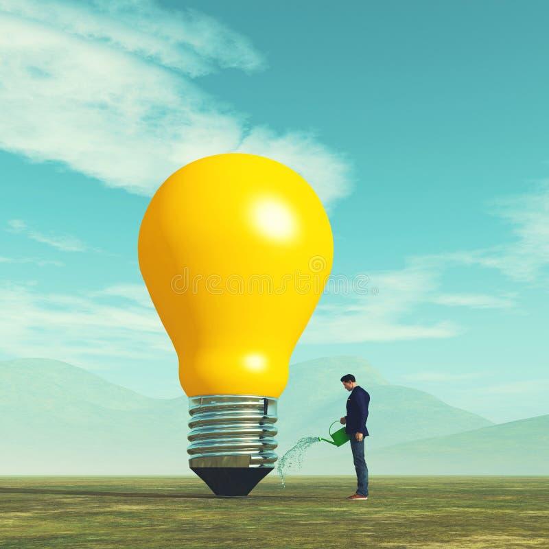 Concpt роста идеи бесплатная иллюстрация