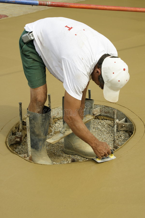 Download Concrete 01 stock image. Image of work, colored, finish - 168095