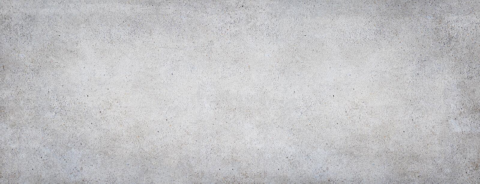 Concrete background. Grey stone banner royalty free stock image