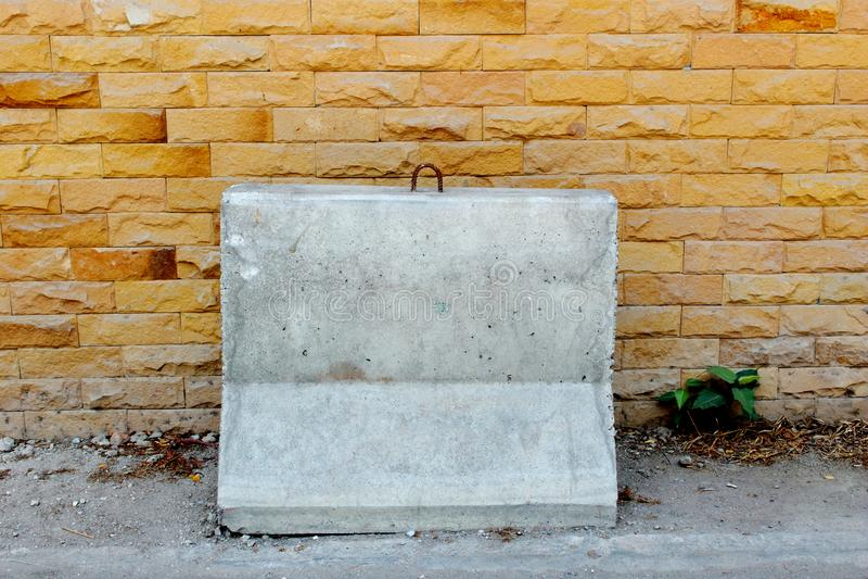 concrete barrier stock images