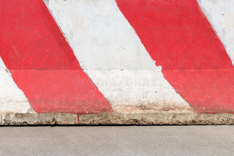 Concrete barrier wall stock photography