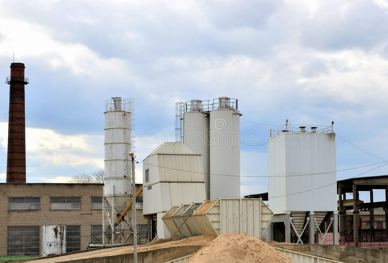 Concrete Batching Plant Stock Images - Download 278 Royalty