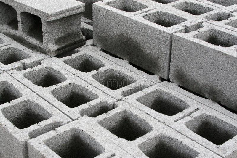 Concrete blocks royalty free stock image
